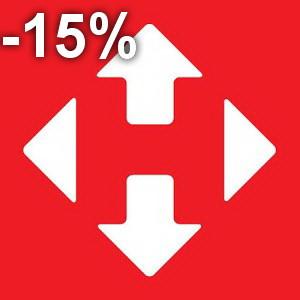 -15% на доставку Новой Поштой