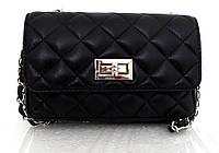 Брендовая женская сумочка - клатч. 100% натуральная кожа! Италия Черный