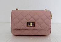Брендовая женская сумочка - клатч. 100% натуральная кожа! Италия Белый