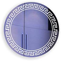 """Зеркало с подсветкой в ванную """"Римский контур """""""