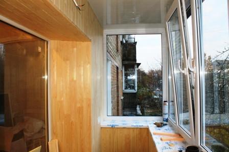 варианты остекления балкона Тепловик