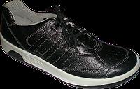 Проведут полную обувь лицо человека для обуви