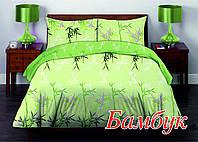 Комплект постельного белья двуспальный HomeLine Бязь 175х215 БАМБУК  нав 50х70