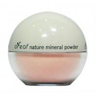 Пудра минеральная рассыпчатая Oreaf №01 Розовый жемчуг,  BEBECO