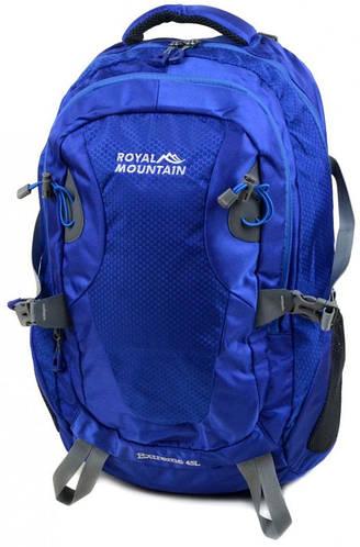 Качественный туристический рюкзак 45 л. Royal Mountain 8463 blue синий