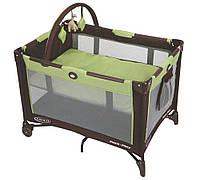 Детская кроватка - манеж Graco On the Go цвет Green
