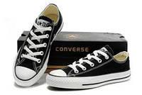 Кеды Converse All Star(низкие черные)