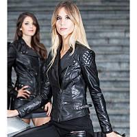 Женская кожаная мотокуртка Montecatena CR Joyita Lady Италия
