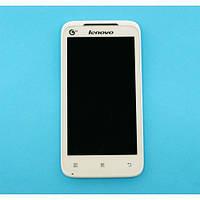 Дисплей Lenovo IdeaPhone A398t (с сенсором) White _RB