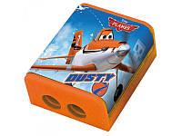 """Точилка для карандашей двойная с контейнером """"Самолетики"""" 620206 1 Вересня"""