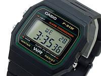 ШОК !!!Мужские часы Casio F-91W Water Resist Black