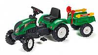 Детский педальный трактор Falk 2052C зелёный