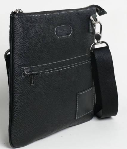 Мобильная мужская сумка через плечо, кожаная ISSA HARA В9-05 (11-31)