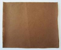 Фетр для рукоделия листовой, 1 лист 40*50 см, жёсткий, толщина 1 мм; коричневый