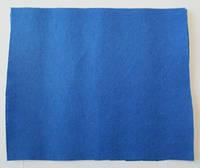 Фетр для рукоделия листовой, 1 лист 40*50 см, жёсткий, толщина 1 мм; синий