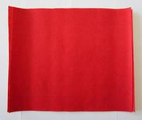 Фетр для рукоделия листовой, 1 лист 40*50 см, жёсткий, толщина 1 мм; красный