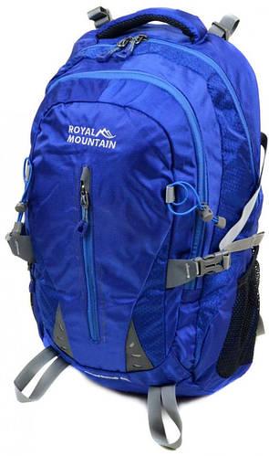 Практичный туристический рюкзак 45 л. Royal Mountain 8437 blue синий