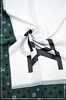 Парео бело-серый LV