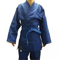 Двухслойное кимоно для дзюдо размер от 160 до 180 см