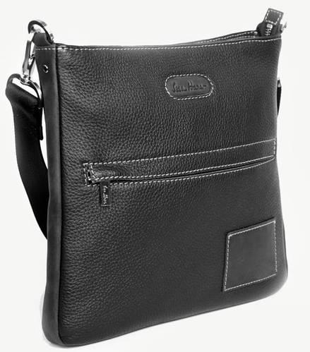 Современная мужская сумка-почтальон из натуральной кожи ISSA HARA В10-05 (11-31)