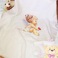 Детский  пледик, крижмо в коляску (кроватку)