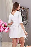 Модное коктельное женское платье