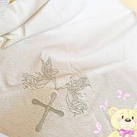 Детский  пледик, крижма, полотенце в коляску (кроватку) Турция