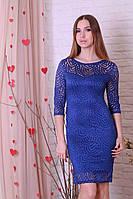 Оригинальное нарядное приталенное платье