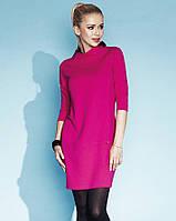 Женское демисезонное платье цвета фуксия. Модель Shirley Zaps.