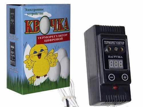 Автоматический терморегулятор для инкубатора