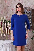 Женское платье декорировано брошью, фото 1