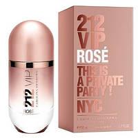 Carolina Herrera 212 VIP Rose  edp 50 ml.  w оригинал