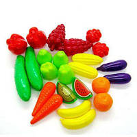 Набор овощи и фрукты 24 предмета 518, ТМ Орион