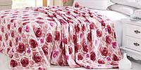 Плед из микрофибры Розы (200х220 см.)