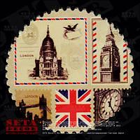 "Магнит ""Лондон коллаж"" из серии ""Лондон"" керамика"