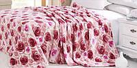 Плед из микрофибры Розы, полиэстер 100% (160х210см.)
