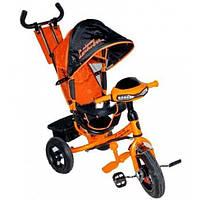 Детский трехколесный велосипед Lamborghini (Lambortrike) Фара Air (оранжевый)