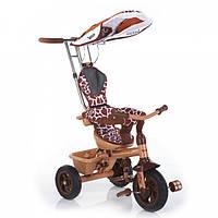 Трехколесный велосипед Lexus Trike Safari Жираф (надувные колеса)