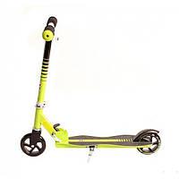 Детский 2-х колесный самокат Explore STAR (зеленый)
