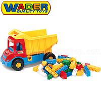 Грузовик Multi Truck с конструктором Wader (32330)