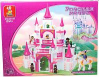Конструктор  Замок для принцессы Sluban 0151