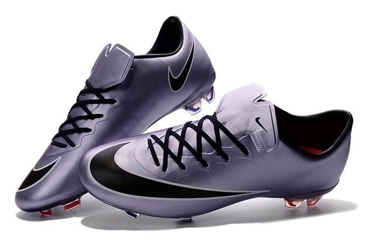 Футбольные бутсы Nike Mercurial Vapor X FG Urban Lilac/Black/Bright Mango/White