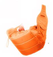 Кенгуру - слинг для переноски детей Banana №11 standart ( оранжевый ) Womar