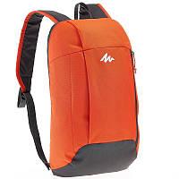 Рюкзак красно - оранжевый легкий, городской и велосипедный