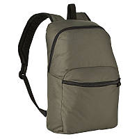 Рюкзак темно серый городской  (легкий,17л)