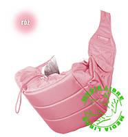 Кенгуру - слинг для переноски детей Banana №11 standart ( розовый ) Womar