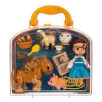 Игровой набор с мини куклой Бель Disney Animators' Collection Оригинал DisneyStore