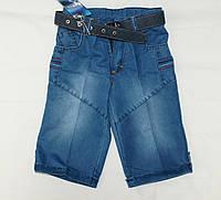 Шорты для мальчика 6-7-8-9 лет джинсовые