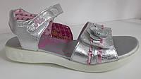 Босоножки на девочку кожа, детская летняя обувь ТМ Fila Израиль Размер 28-34