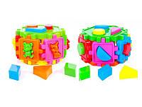 Развивающая игрушка сортер-шестигранник 50-105 Kinderway